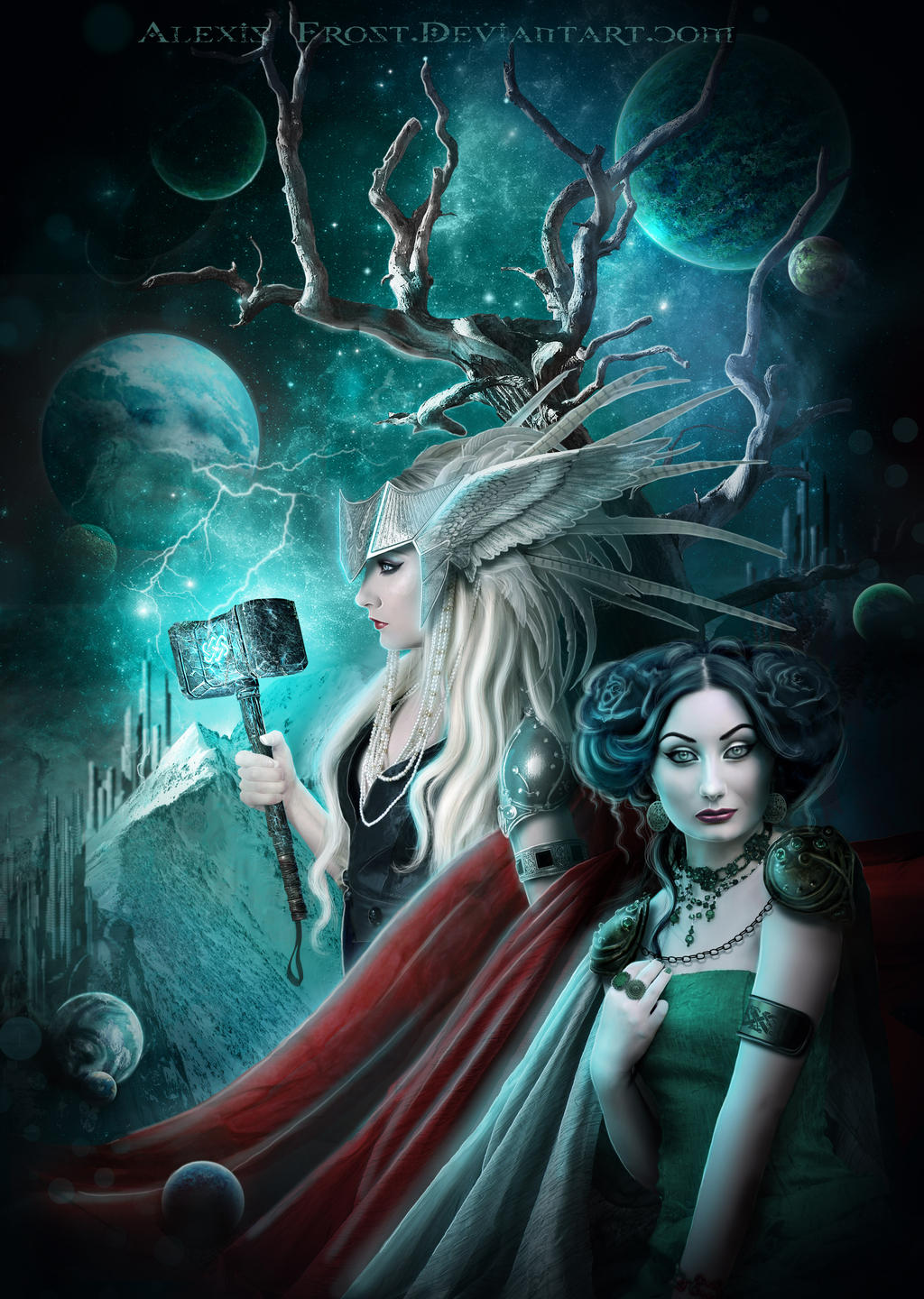 Thor and Loki: Nine Realms by FrostAlexis