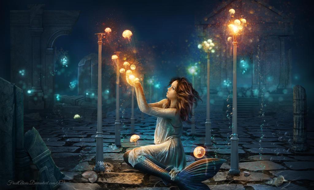 Atlantis Lights by FrostAlexis
