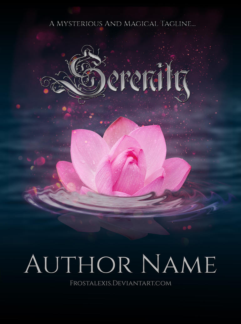 Serenity Book Cover By Frostalexis On Deviantart