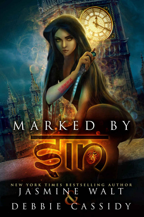 Marked by Sin (Book Cover) by FrostAlexis