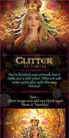 Easy Glitter Tutorial
