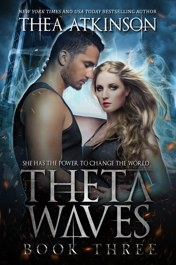 Theta Waves book 3 -- Ebook Cover by FrostAlexis