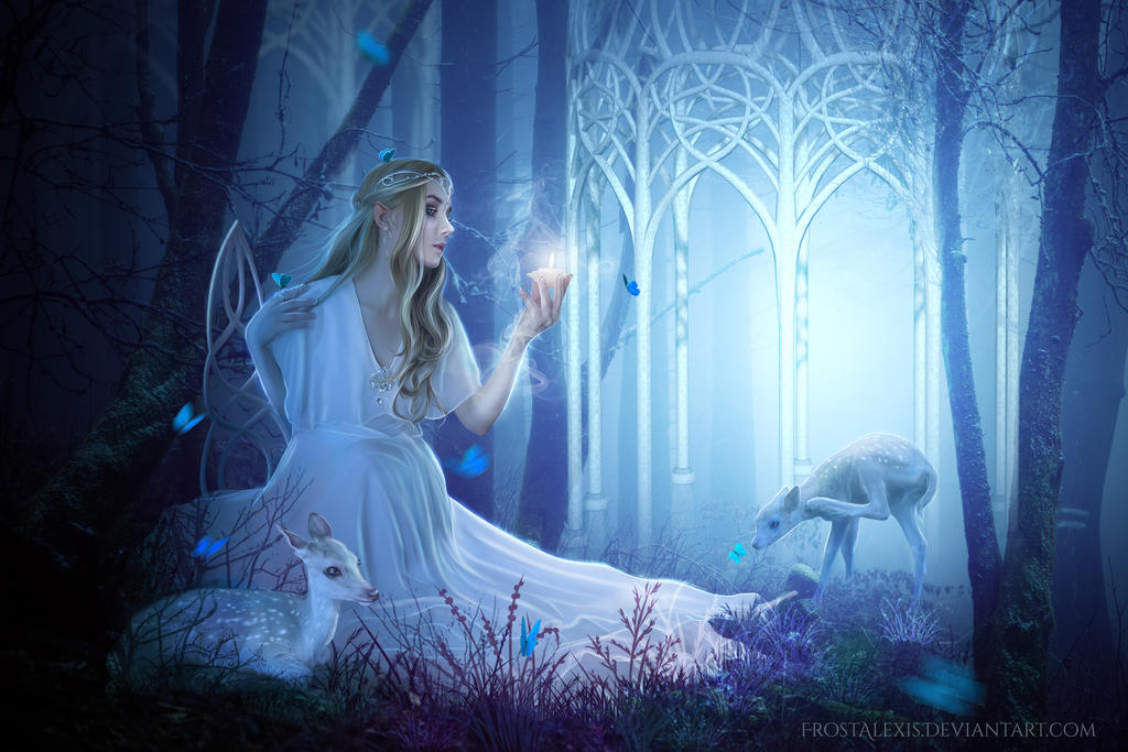 Spirits of Lorien by FrostAlexis