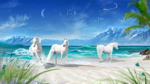 Paradise Shores - Wallpaper