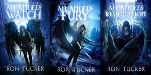 A.R.C. Angels Book Cover Set ***SOLD*** by FrostAlexis