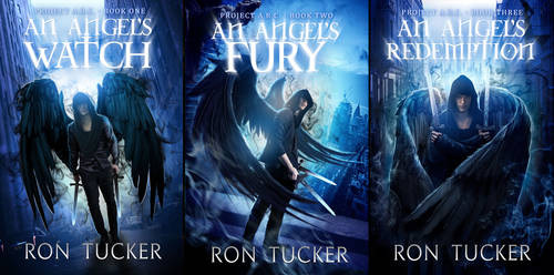 A.R.C. Angels Book Cover Set ***SOLD***