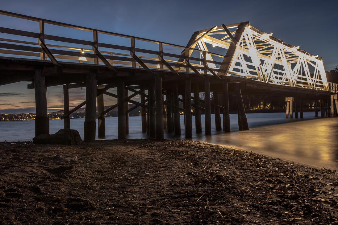 Wooden bridge by BIREL