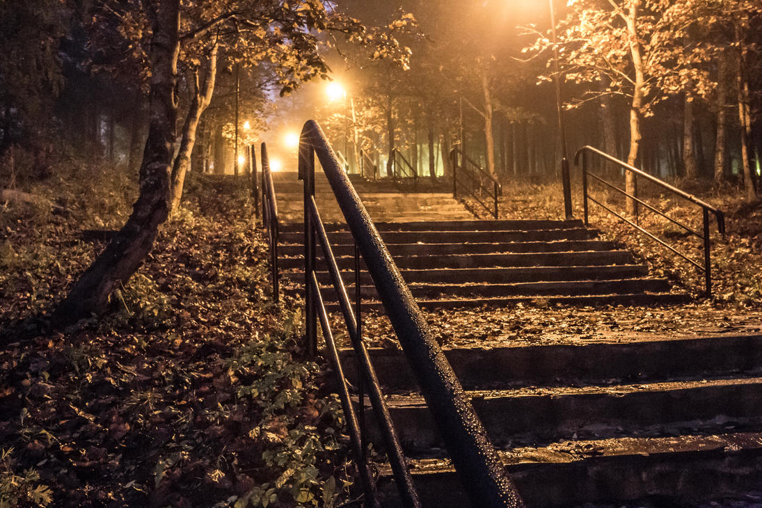 Stone stairs by BIREL