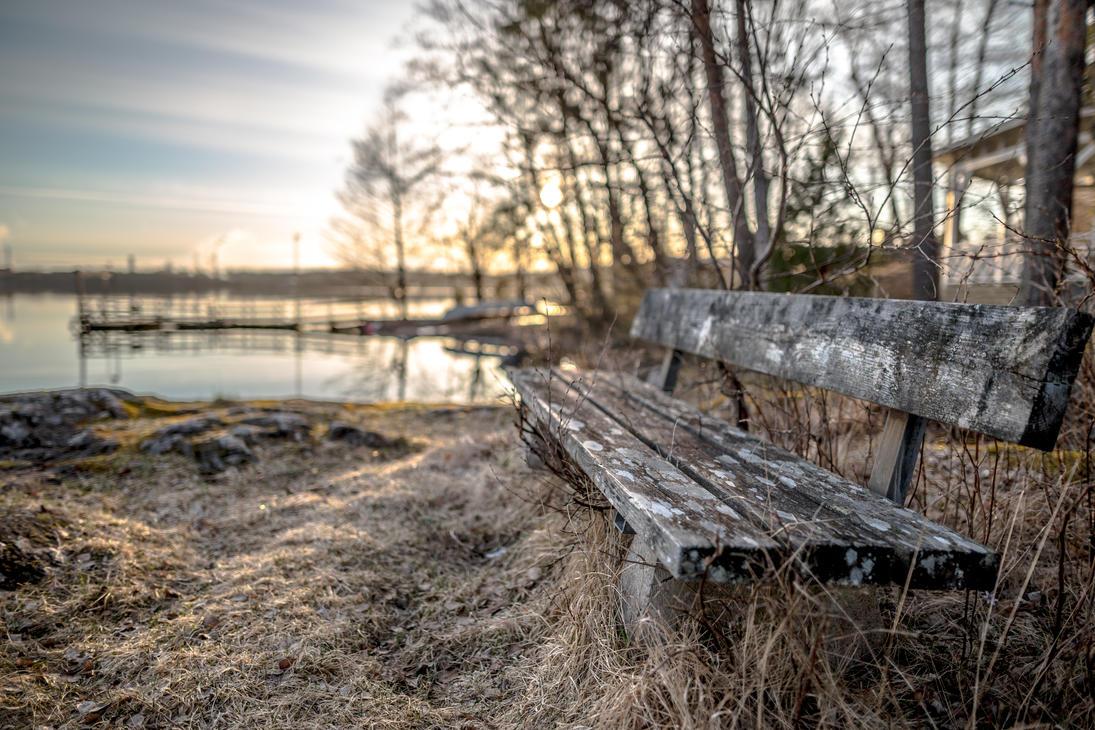 Old bench by BIREL