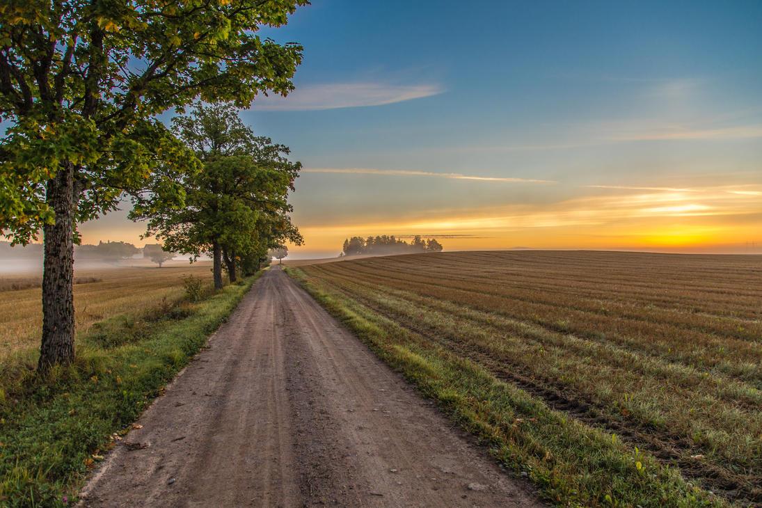 Finnish countryside by BIREL