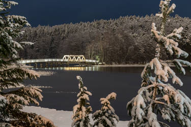 Beautiful winter night by BIREL