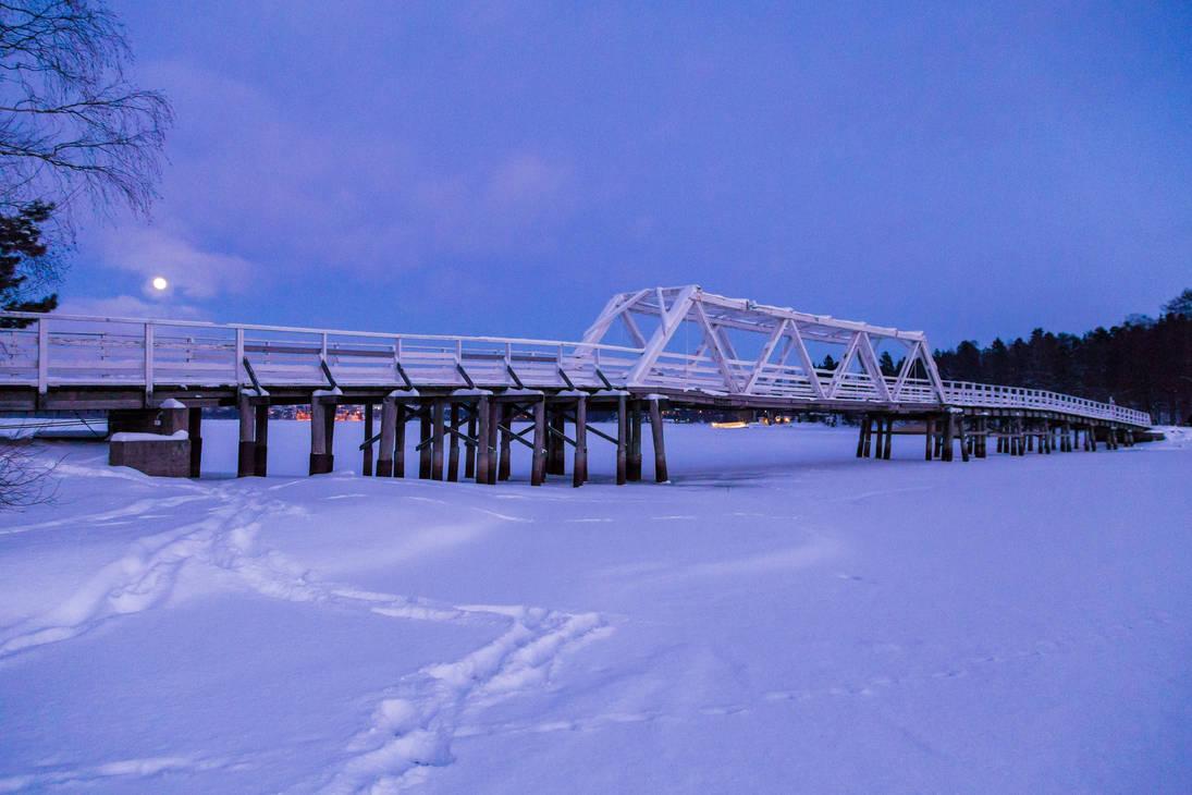 Winter evening by BIREL