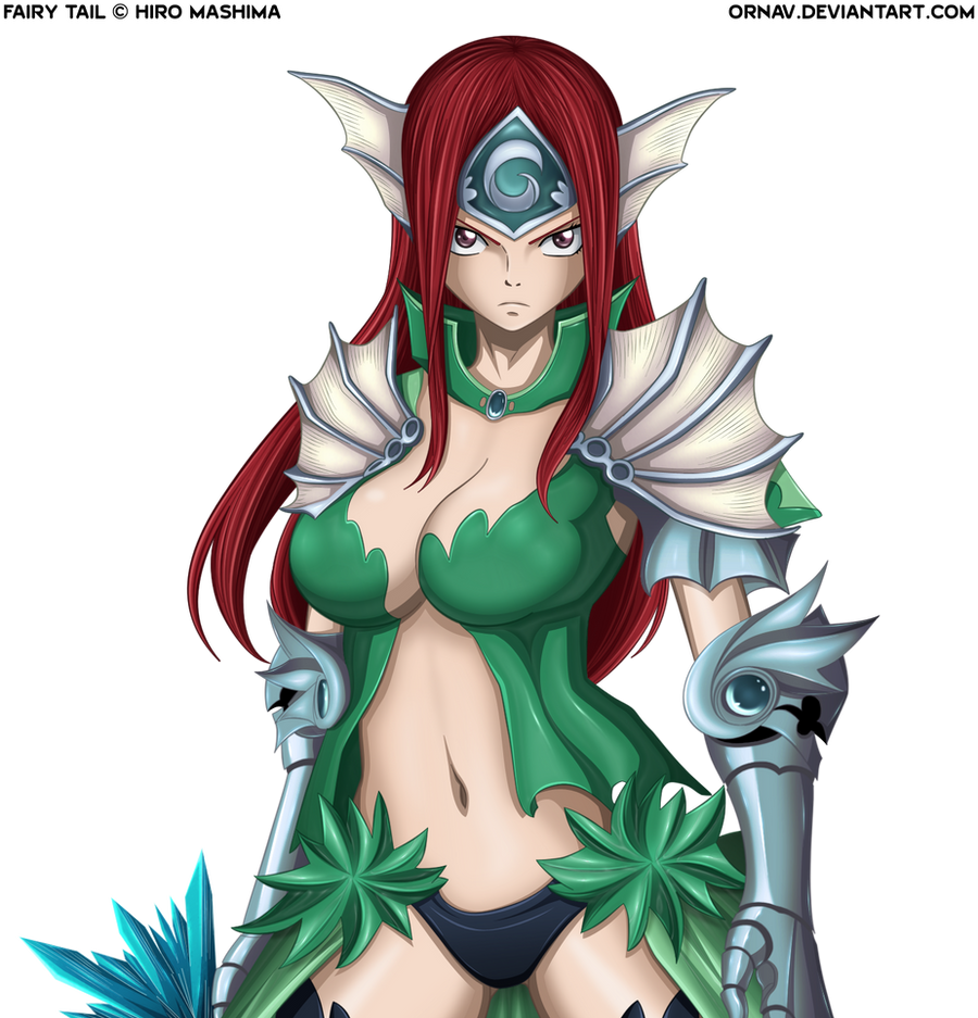 Erza Scarlet Wallpaper: Erza Scarlet By Ornav On DeviantArt