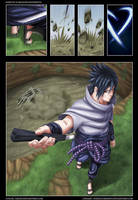 Naruto 567 - Sasuke Color by Ornav