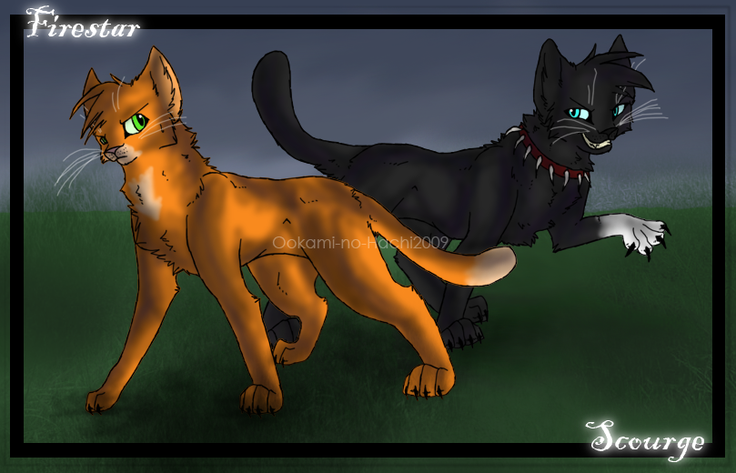 It's Rated R People! CE__Firestar_and_Scourge_by_Ookami_no_Hachi