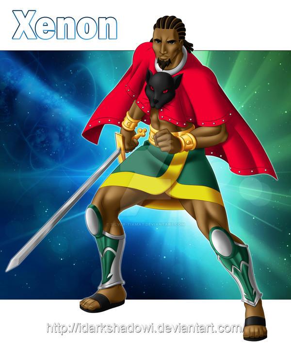 Prince Xenon by Silver-Tiamat
