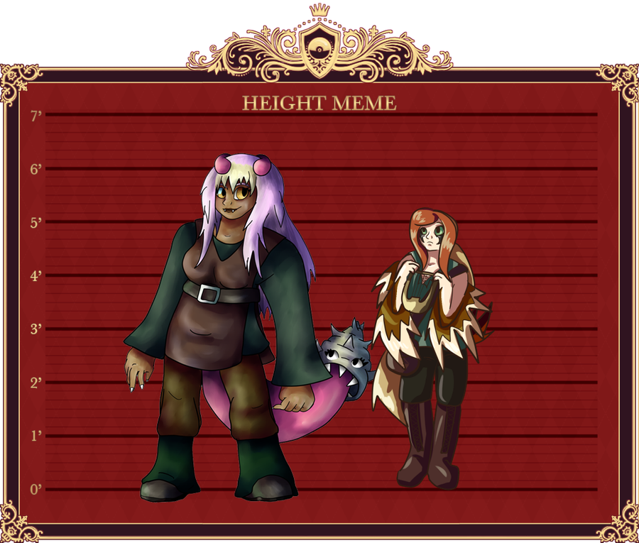 PP Height Meme by Ferret-X