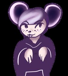 Gender Ambiguous Mouse Person