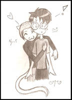 DH With CattyDraco by l-Reflet-Palissant-l
