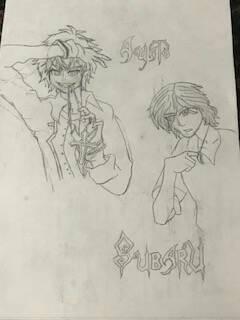 Ayato and Subaru (Diabolik Lovers) by TheDeadpool99