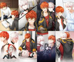 Mystic Messenger - 707 and Unknown