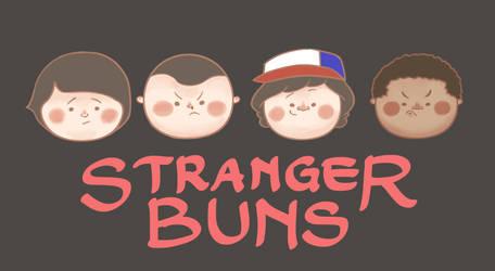Stranger Buns by vickyvuong95