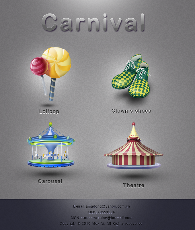 Carnival pack-1 by rockingonion