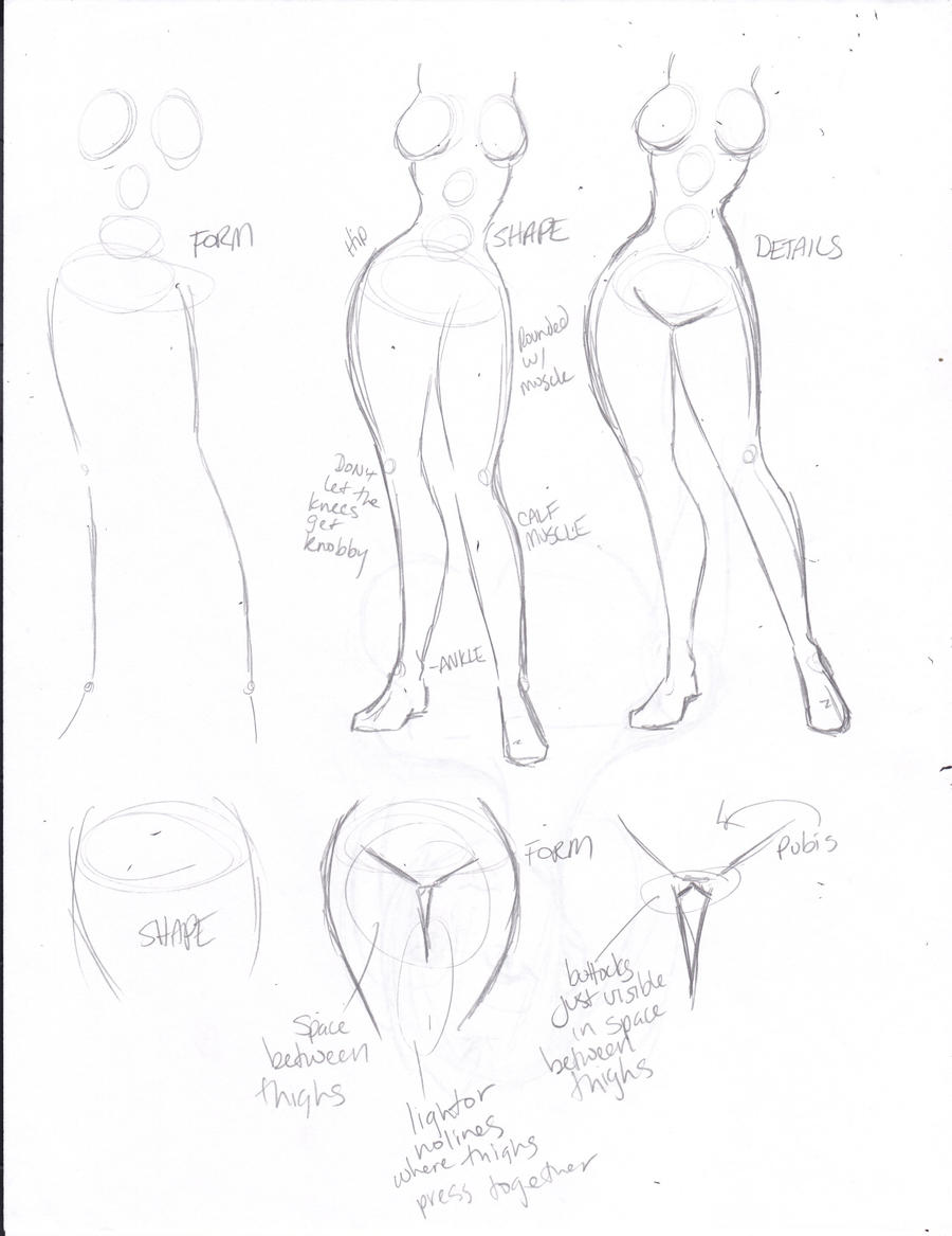 How to Draw Celeste pt 6: Legs by kivabay on DeviantArt