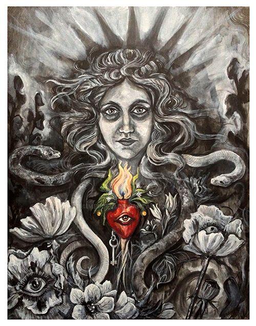 Hekate - The Underworldly One by meddevi