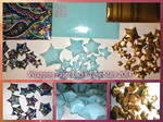 Handmade Wrapping Paper Lucky/Love Stars 2014