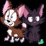 Roxie and Jade