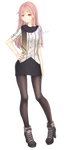 Anime girl - Original Character by YusaMiyoto