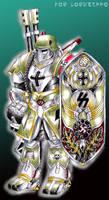 Nazi-style heavy armour