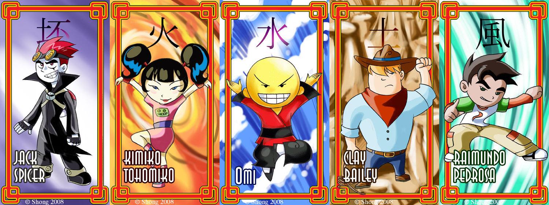 Xiaolin - Pojedynek Mistrzów
