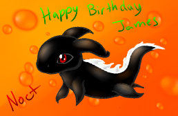 Happy Birthday James! by Nocturn02