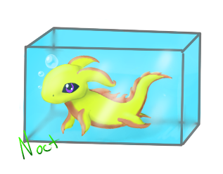Yellow Coral SeaPup by Nocturn02