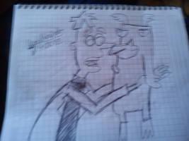 Heinz Doofenshmirtz y Perry como perro