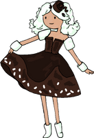 Cocoa Princess OC by kiashone