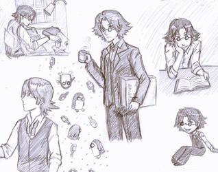 Simon Doodles by kiashone