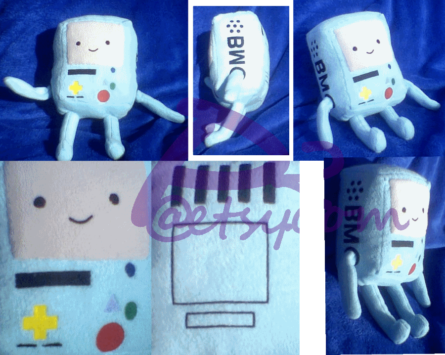 BMO Plush 2 by kiashone