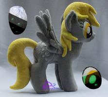 Derpy V3.6 Glow-in-the-Dark by kiashone
