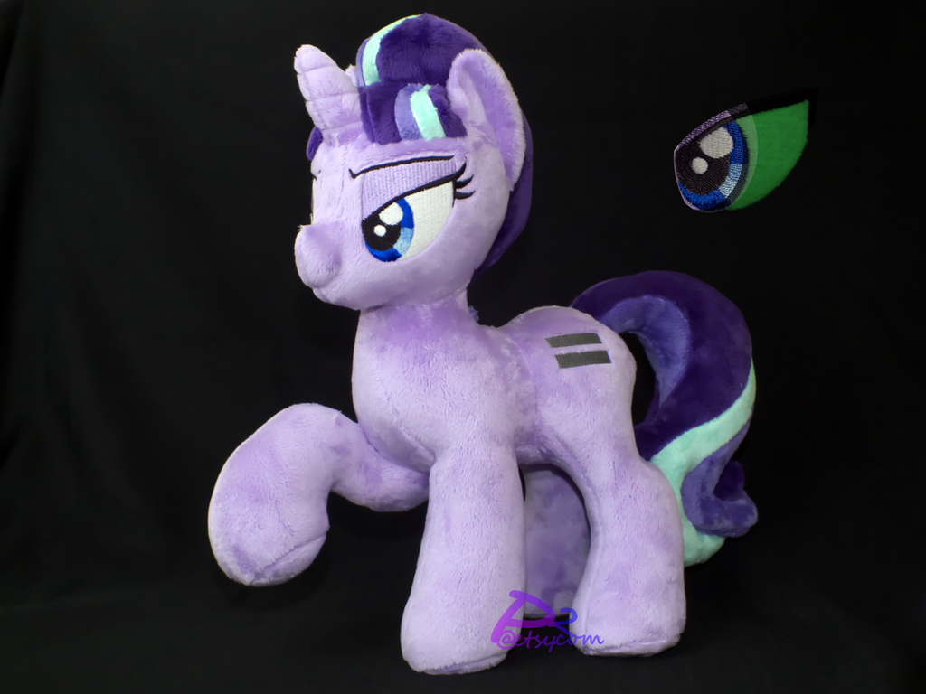 Starlight Glimmer P1RHV1 Glow-in-the-Dark by kiashone