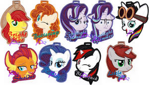 <b>More Vinyl Badges Offered At BronyCon 2018</b><br><i>kiashone</i>