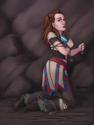 July Patron Poll - Aloy by d4phnaie