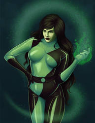 September Patron Poll: Shego by d4phnaie