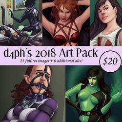 2018 DLC Pack by d4phnaie