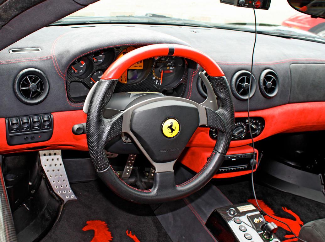 Ferrari Cockpit by Stephen-Coelho