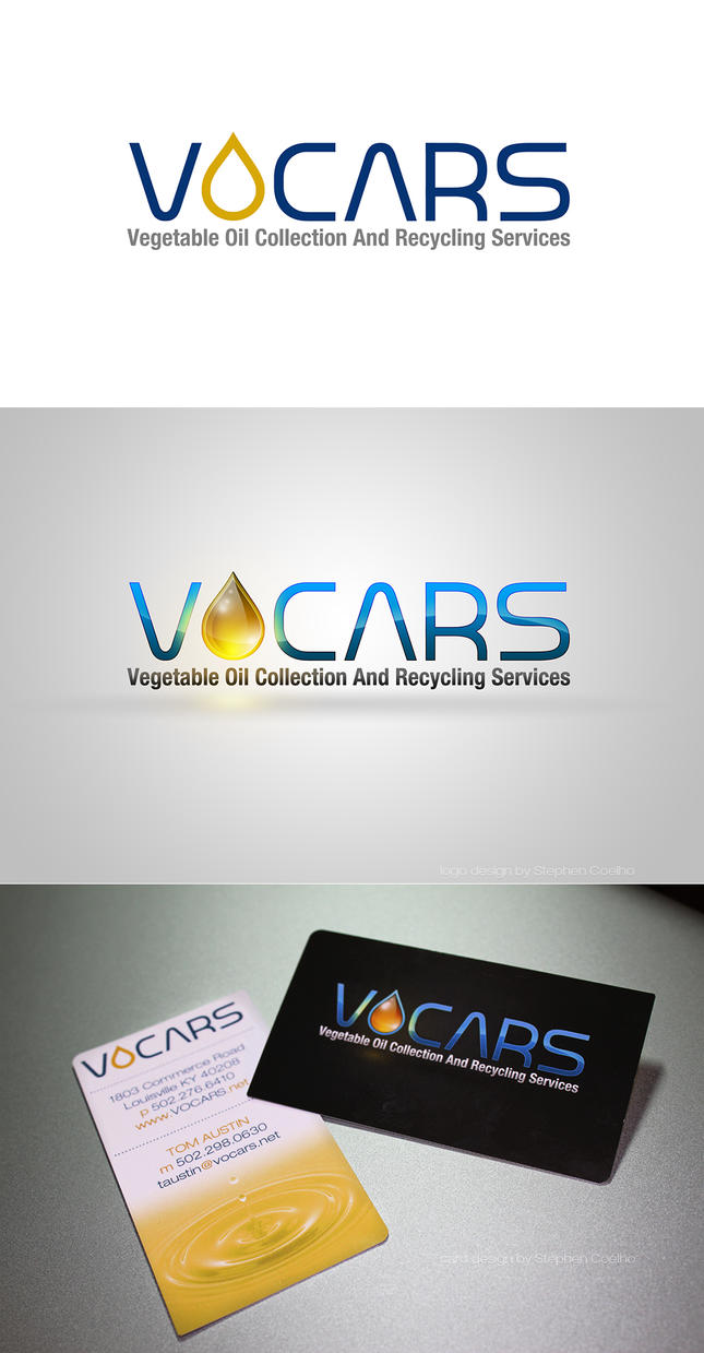 VOCARS logo and business cards by Stephen-Coelho on DeviantArt