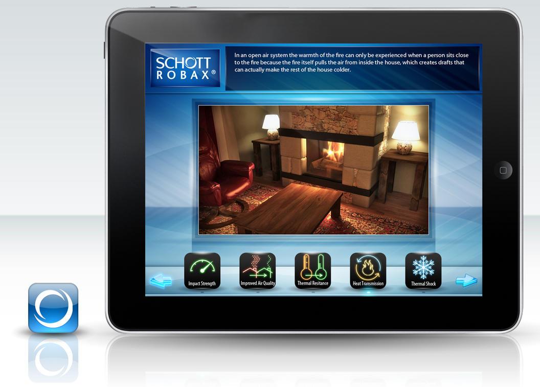 Schott Robax iPad app by Stephen-Coelho