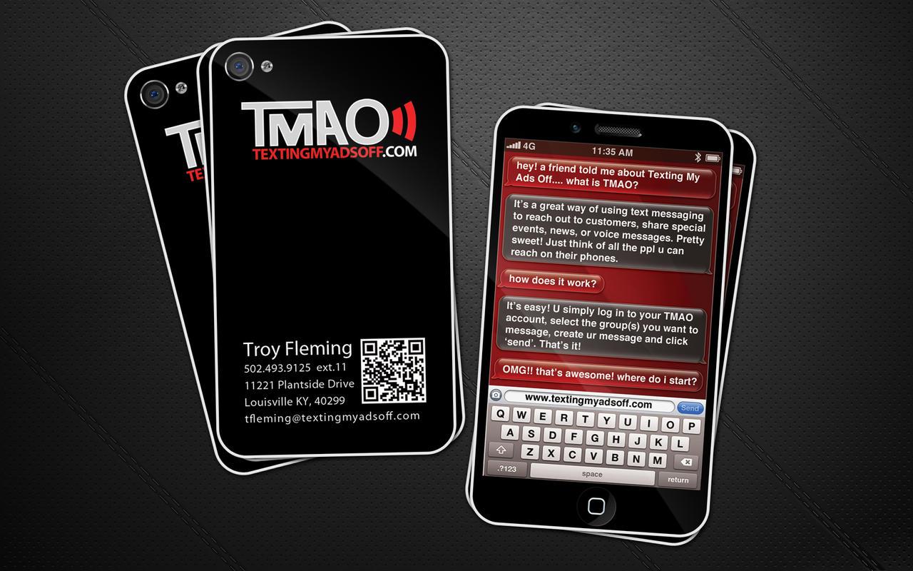 TMAO business cards by Stephen-Coelho on DeviantArt
